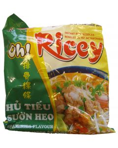 Oh! Ricey Vietnamese Rice Noodles Spareribs Flavour 70g (Pack of 10 packs)