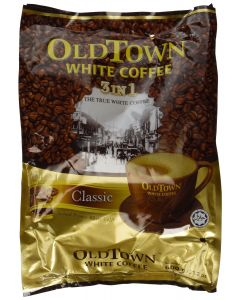 Old Town Malaysia White Coffee 3 in 1 Classic (40g x 15 sticks) 600g