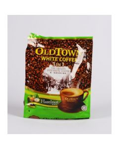 OldTown Malaysia White Coffee 3 in 1 Hazelnut (40g x 15 sticks) 600g