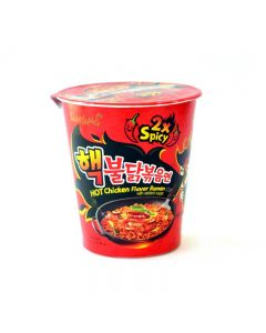 Samyang Extremely 2xSpicy Chicken Flavour Ramen Cup 70g (1 Cup Only)