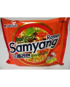 Korean Samyang Original Spicy Ramen Flavor (Pack of 5)