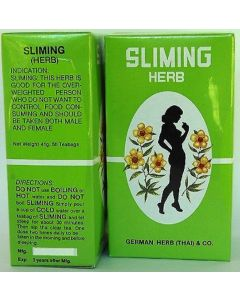 Sliming Herb 50 Tea Bags 41G by German Herb (Thai) & Co