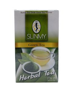 Slinmy Green Tea Herbal tea 20 Teabags 40G by Slinmy